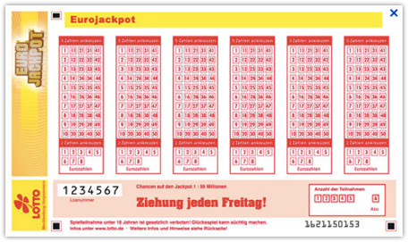 Wie Funktioniert Euro Lotto
